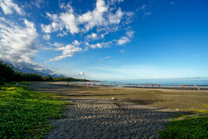 台東景點都歷沙灘-天空之鏡