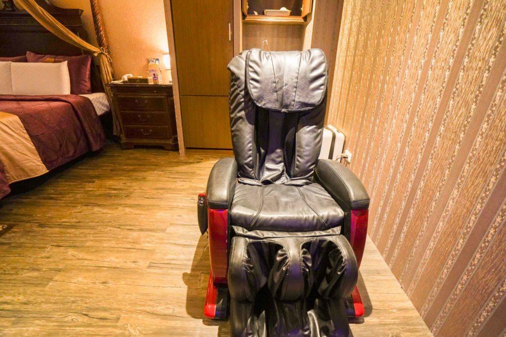 溫莎堡汽車旅館-仁德館按摩椅