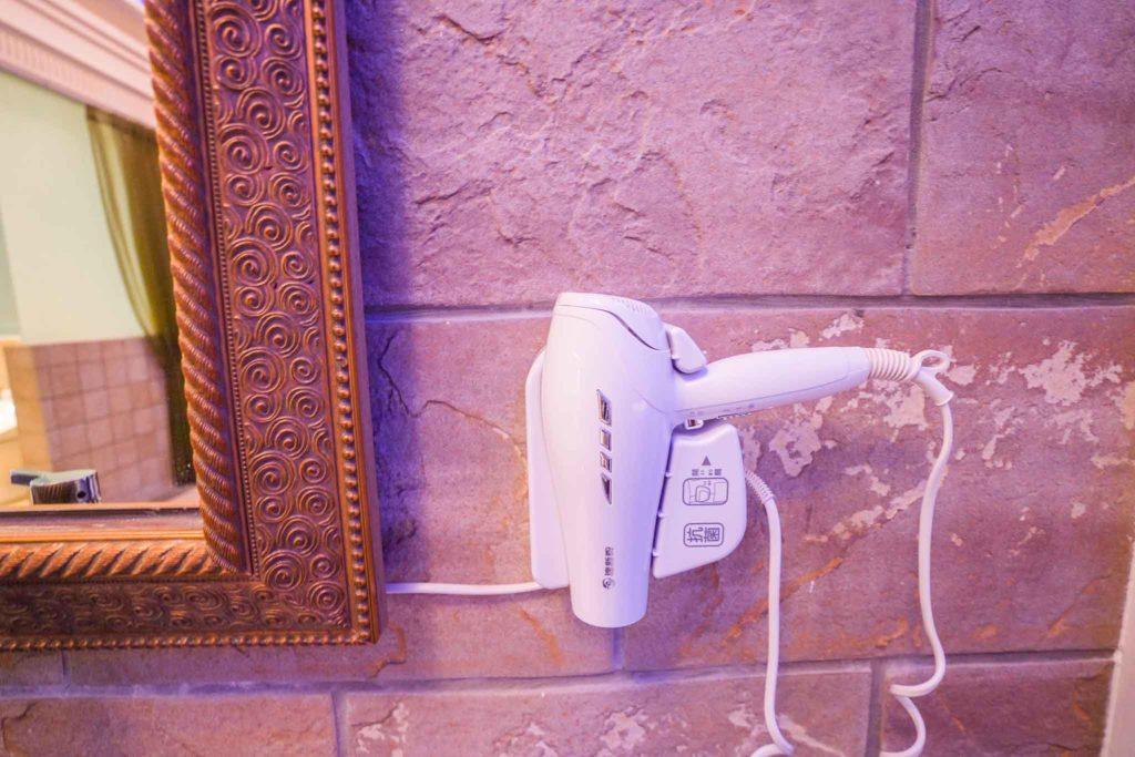 溫莎堡汽車旅館-仁德館吹風機