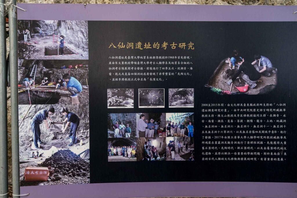 八仙洞遺址(長濱文化) 被發現