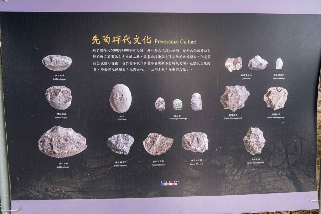 八仙洞遺址(長濱文化)先陶時期