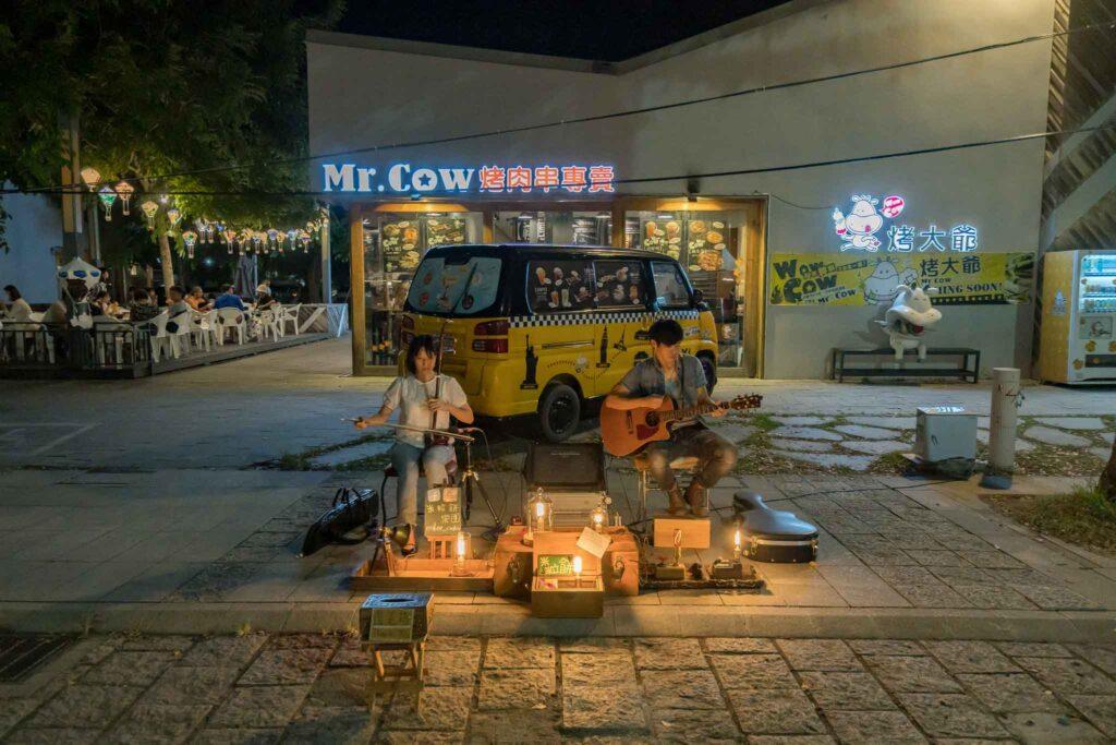 鐵花村街頭藝人