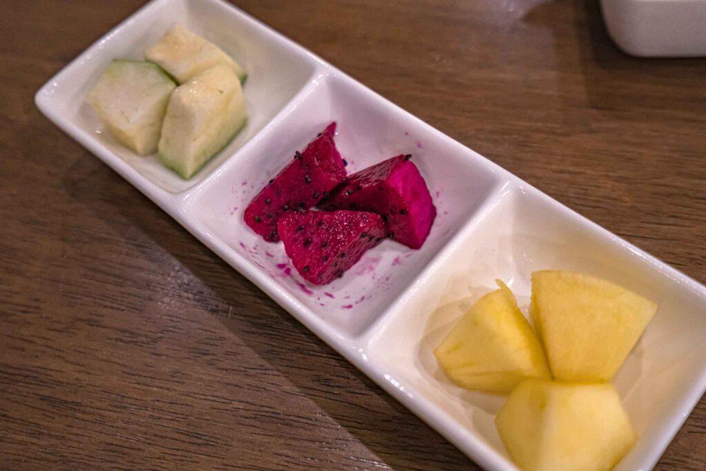 上味食堂水果