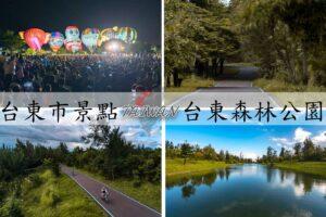 『台東市景點』騎單車繞都市秘境,琵琶湖,鴛鴦湖,黑森林|台東森林公園,門票、交通資訊