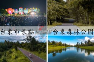 Read more about the article 『台東市景點』騎單車繞都市秘境,琵琶湖,鴛鴦湖,黑森林|台東森林公園,門票、交通資訊