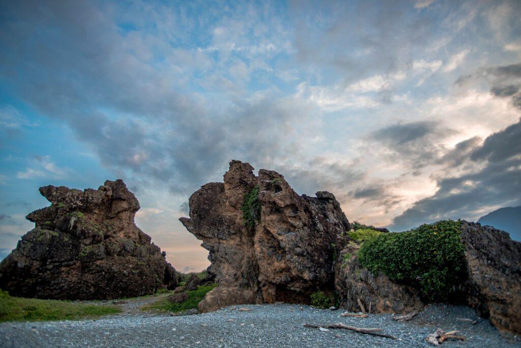 三仙台風景區奇石