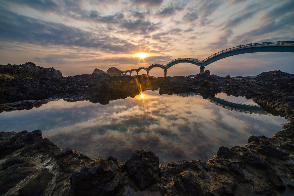 三仙台風景區日出