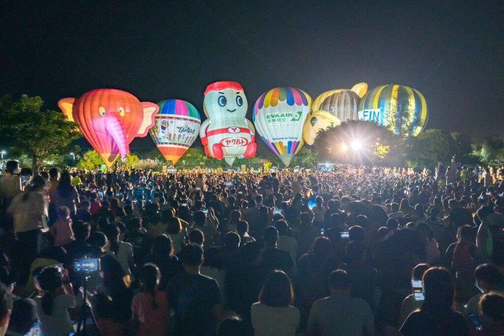台東森林公園熱氣球