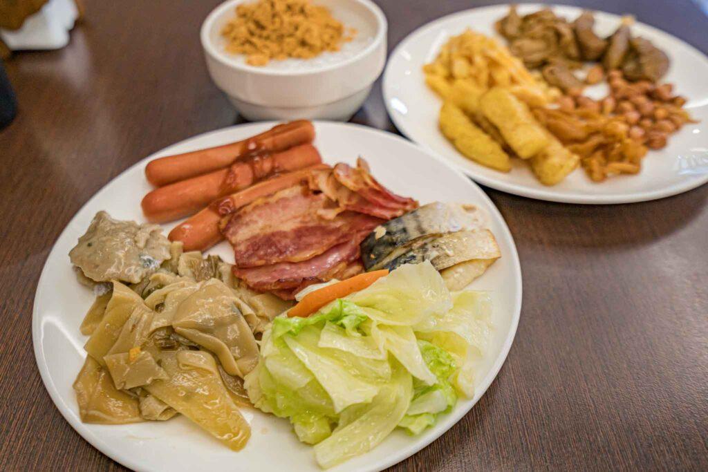冠月精品旅館早餐