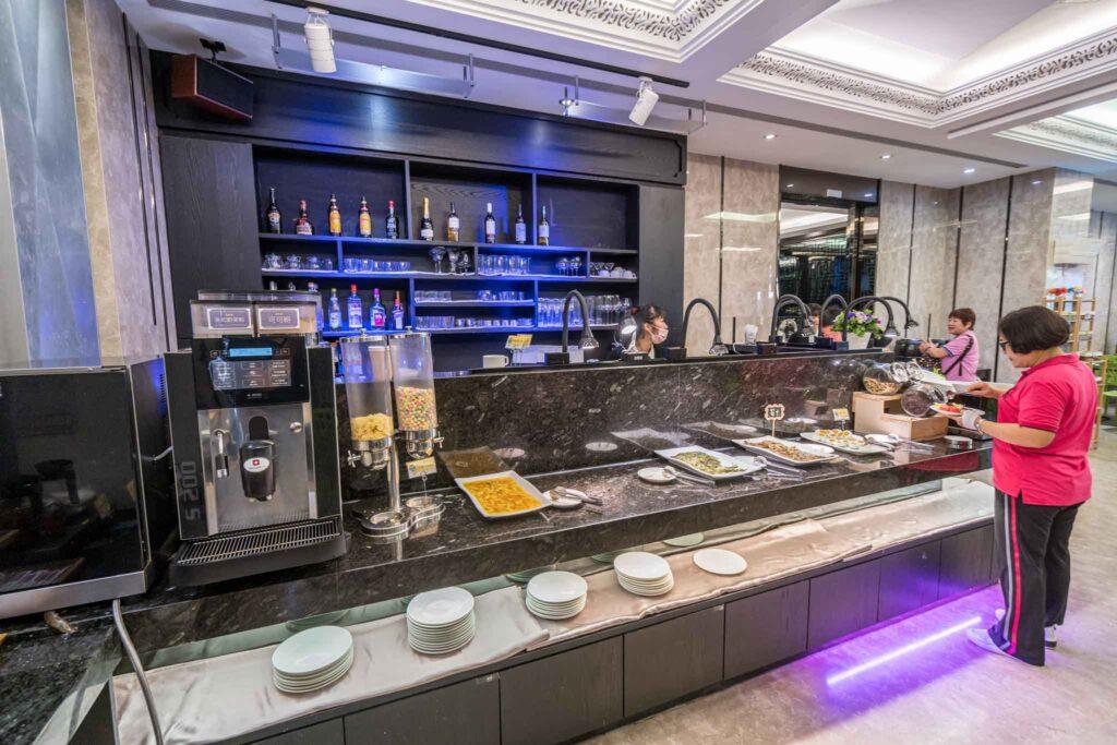 冠月精品旅館自助早餐