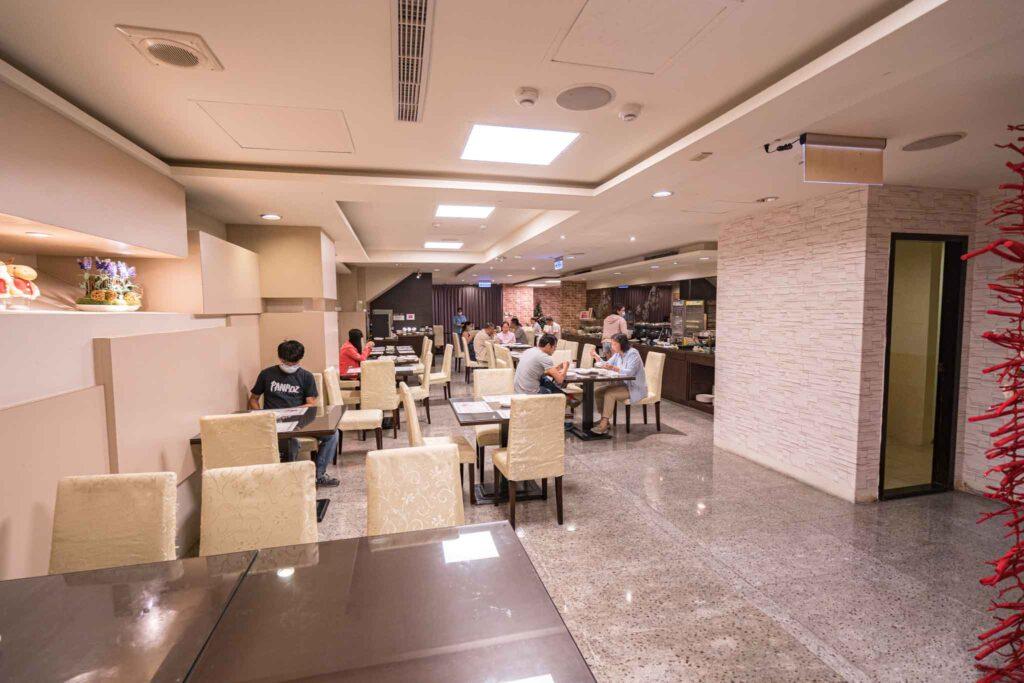 百悅休閒飯店早餐