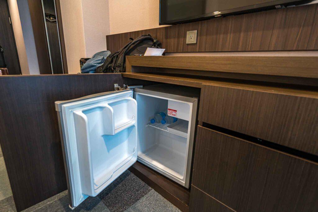 台南 煙波大飯店客房冰箱