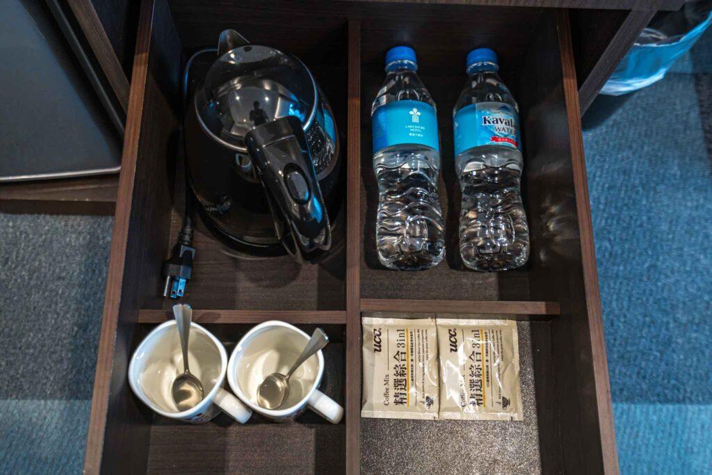台南 煙波大飯店客房備品
