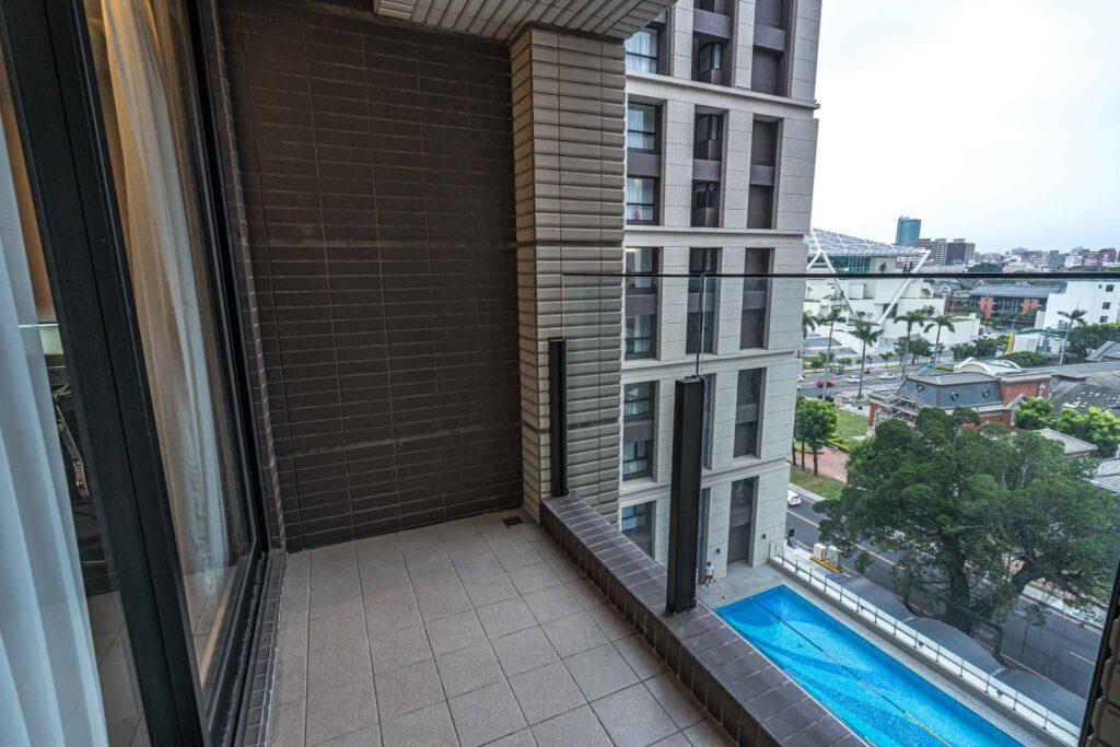 台南 煙波大飯店客房陽台