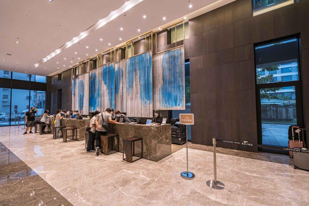 台南 煙波大飯店櫃台