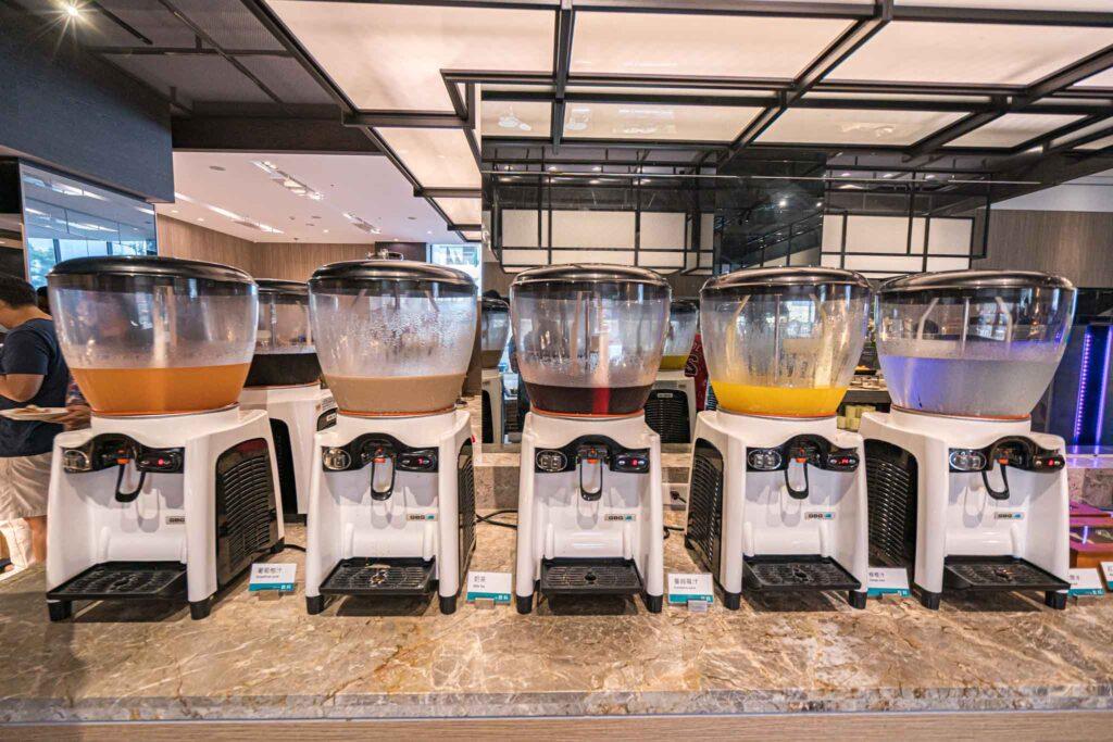 台南 煙波大飯店早餐buffet 飲料