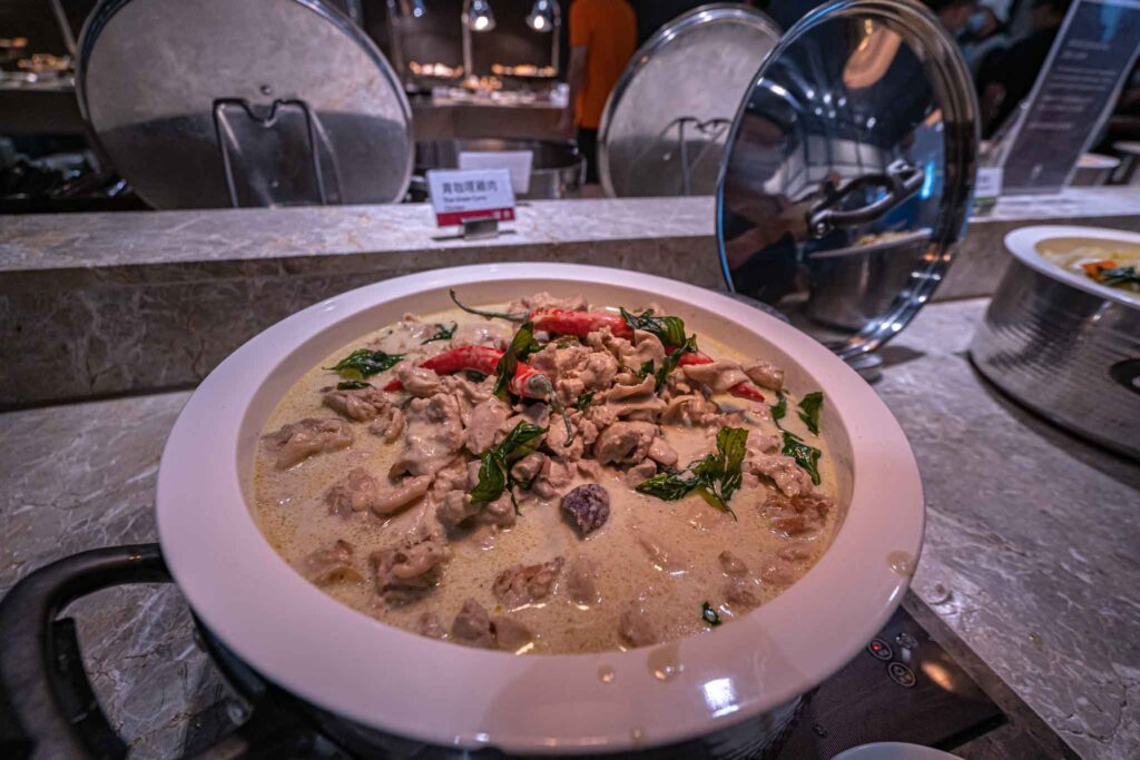 台南 煙波大飯店 早餐 雞肉