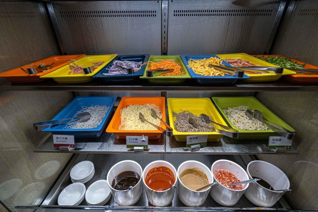 台南 煙波大飯店 早餐 buffet 涼拌
