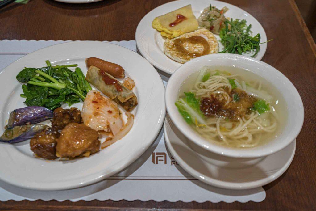 台南富信大飯店早餐