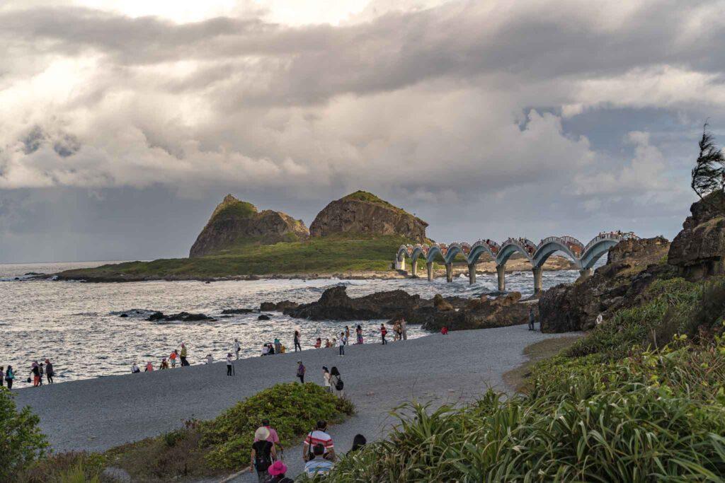 三仙台風景區礫石灘