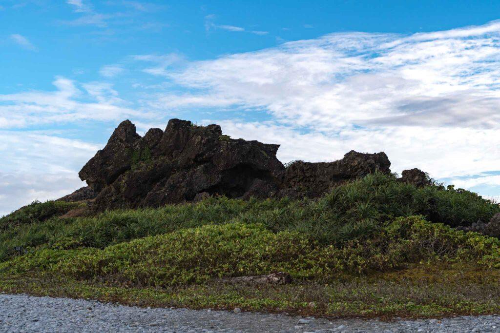 巒山集塊岩