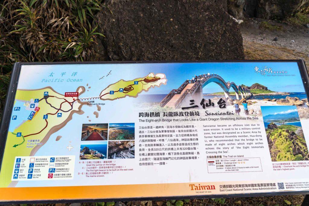三仙台導覽圖