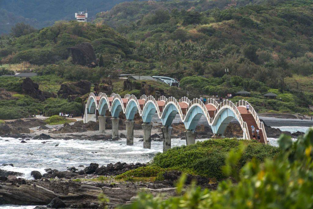 三仙台風景區八拱橋