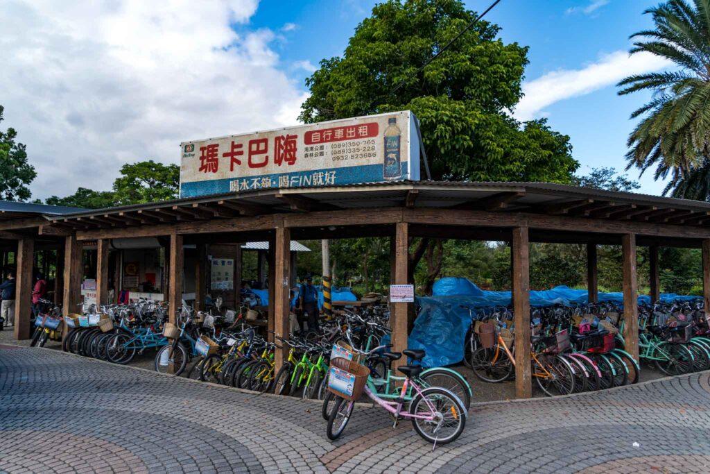 台東森林公園租單車