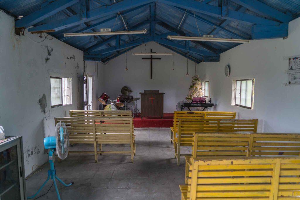 山里福音教會擺設