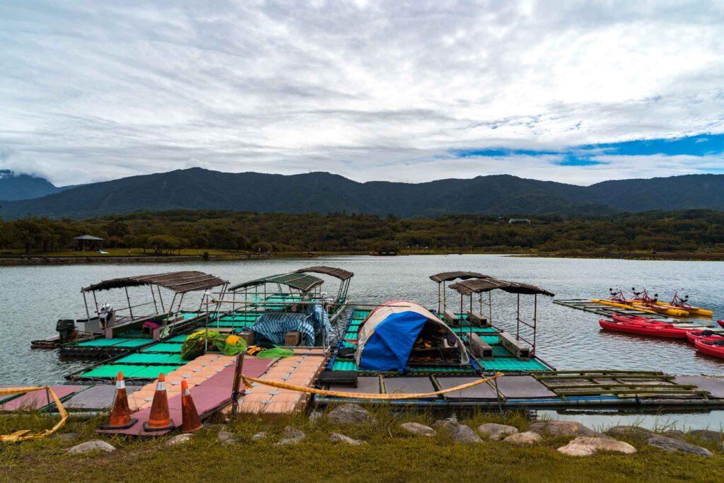 池上大坡池搭船