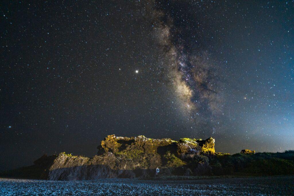 三仙台風景區銀河