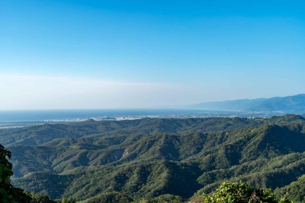 都蘭山登山口風景