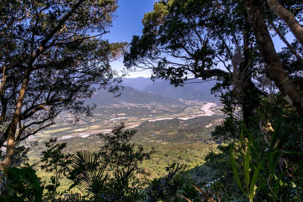 都蘭山登山步道風景