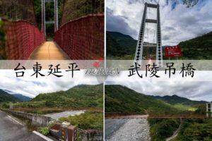 Read more about the article 『台東延平鄉』,清幽的武陵吊橋,只有大自然的交響樂|交通資訊、注意事項