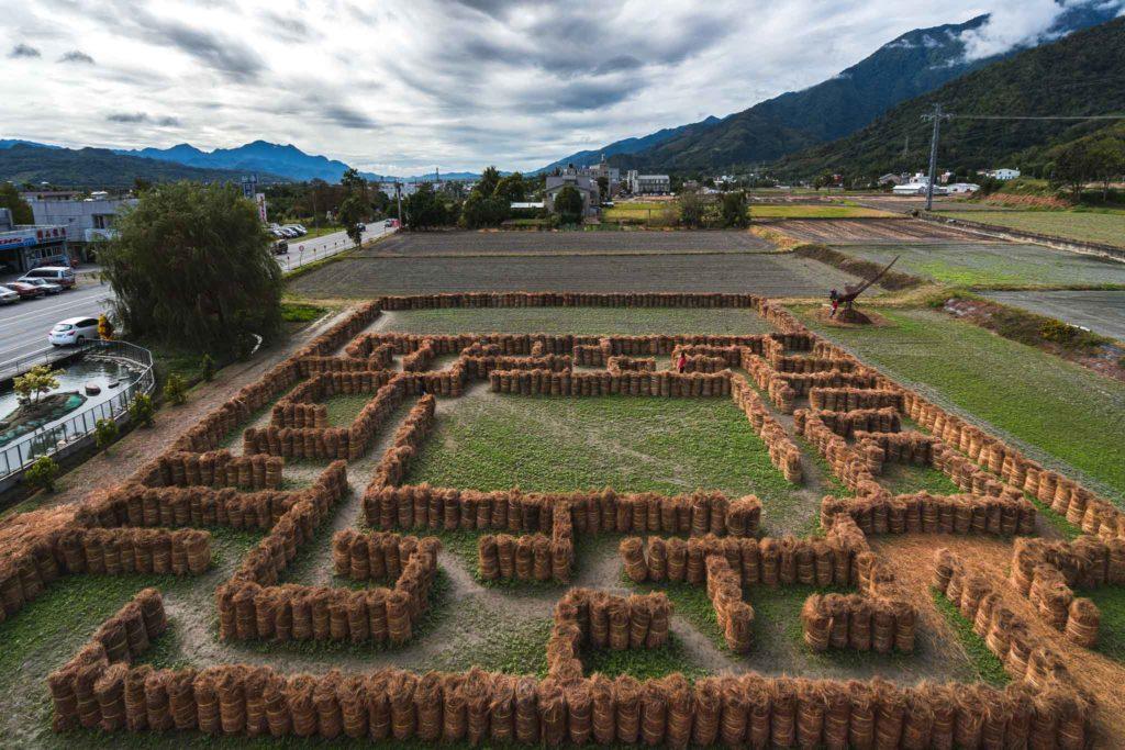 米國學校 稻草迷宮