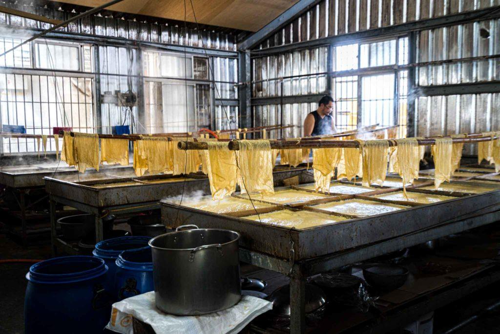 大池豆包豆皮豆漿店工廠
