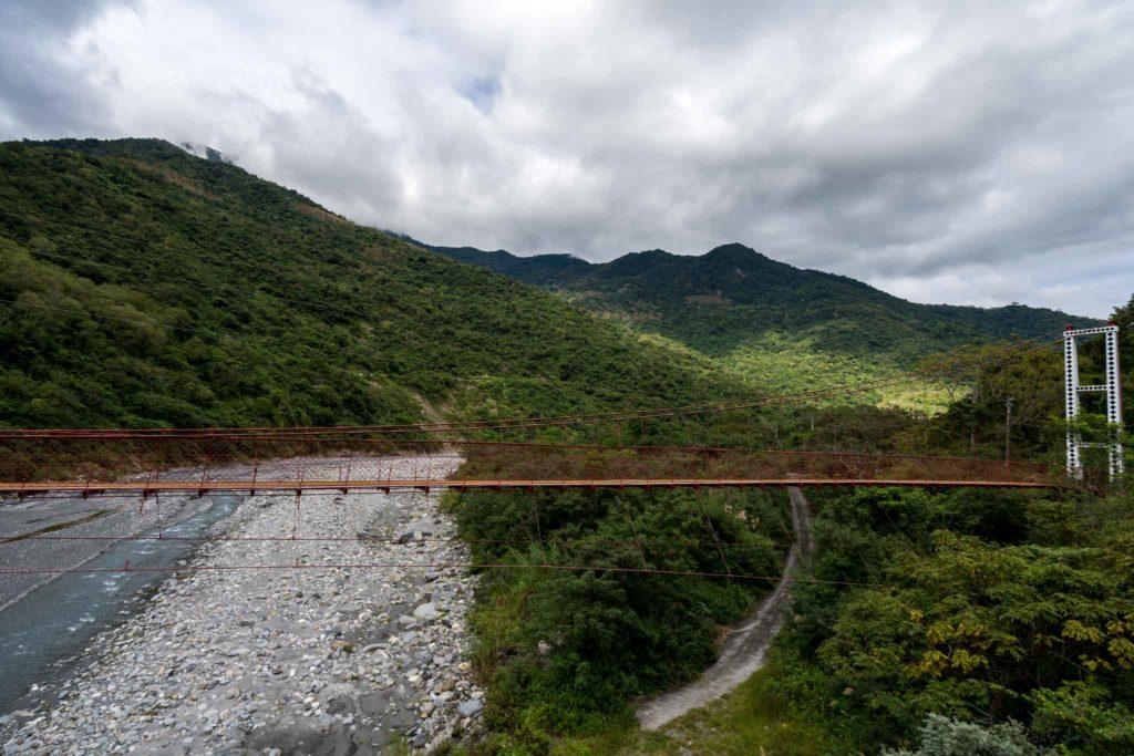 武陵吊橋風景