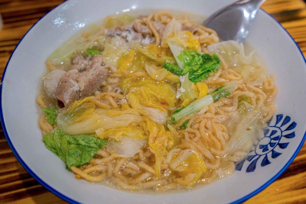 吐司代表的鍋燒意麵泡菜口味