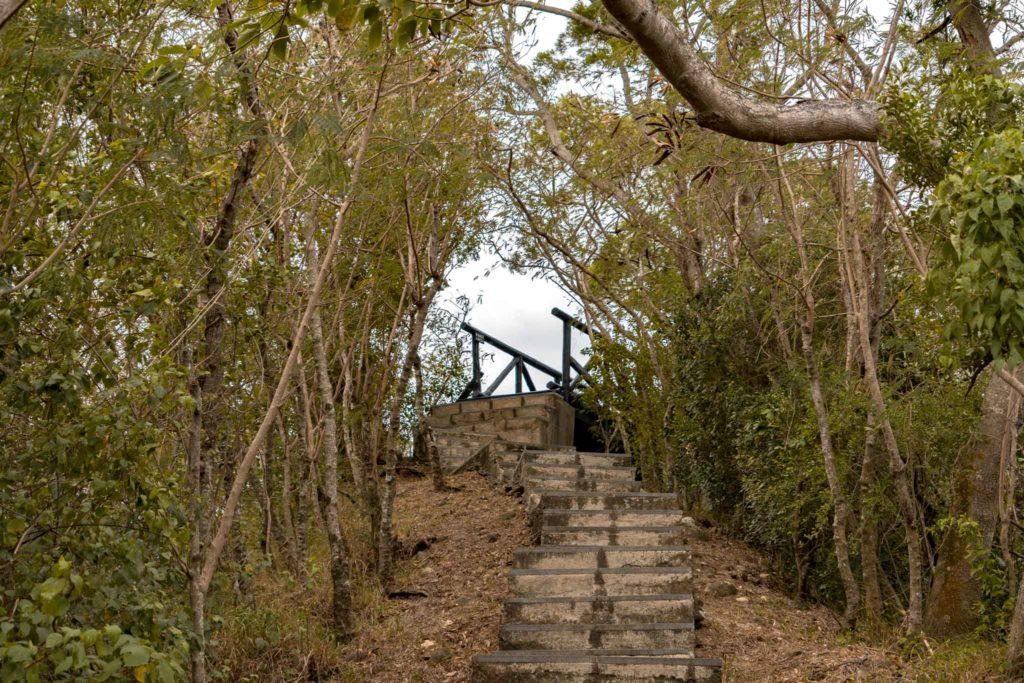 鯉魚山步道的鯉首觀景平台