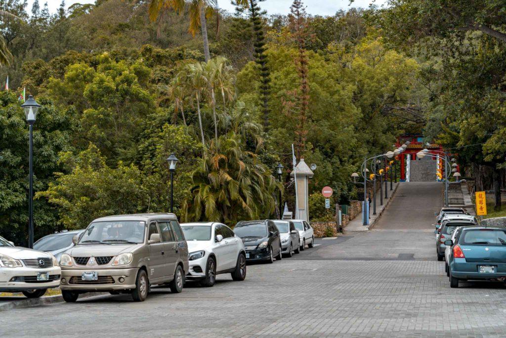 鯉魚山登山步道入口