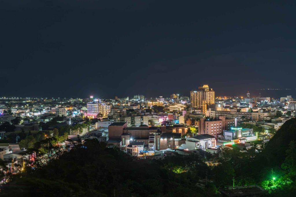鯉魚山夜景