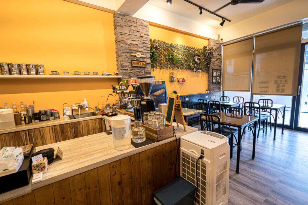 台東日光咖啡館(早午餐)內用環境