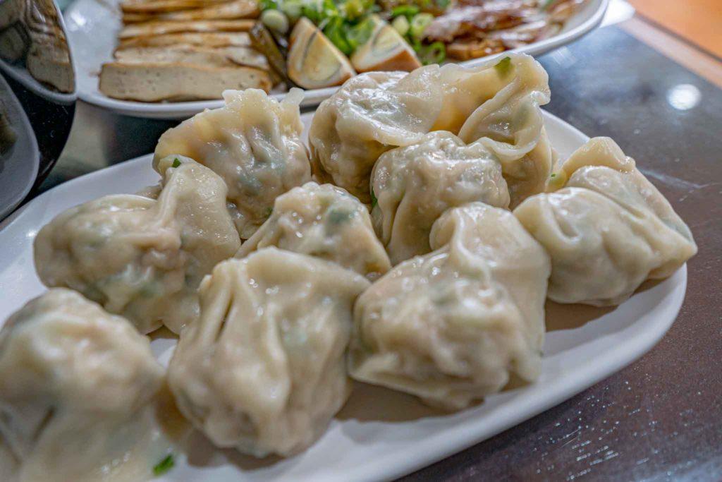 鼎倫牛肉麵的水餃