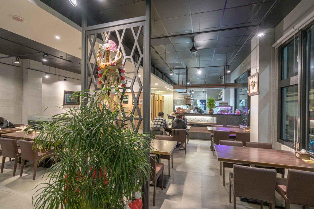 台東樂膳私房料理內用空間