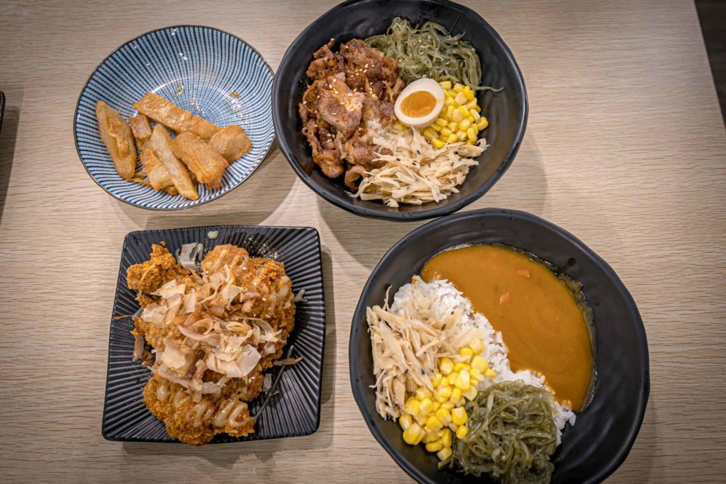 職人雙饗丼-台東鐵花店餐點