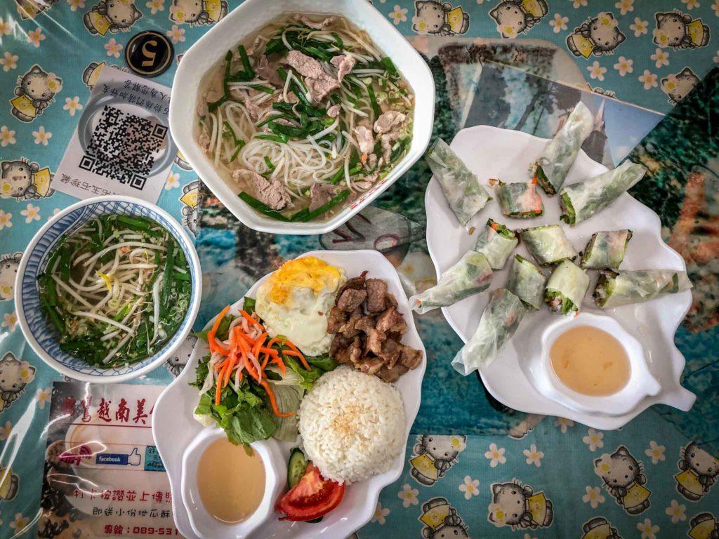 都蘭.錦鸞越南美食餐點